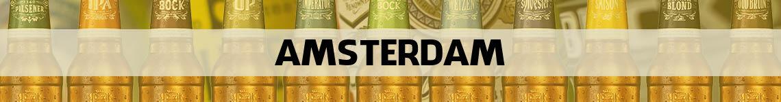 bier bestellen en bezorgen Amsterdam