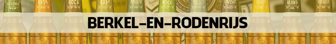bier bestellen en bezorgen Berkel en Rodenrijs