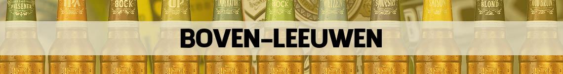 bier bestellen en bezorgen Boven-Leeuwen