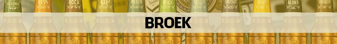 bier bestellen en bezorgen Broek