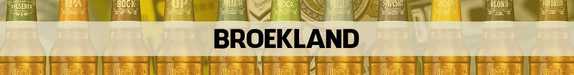 bier bestellen en bezorgen Broekland