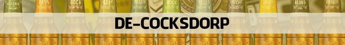 bier bestellen en bezorgen De Cocksdorp