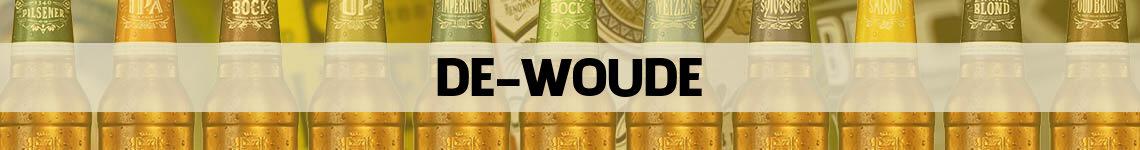 bier bestellen en bezorgen de Woude
