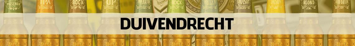 bier bestellen en bezorgen Duivendrecht