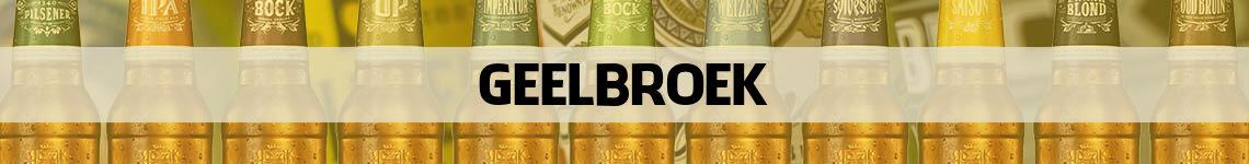 bier bestellen en bezorgen Geelbroek