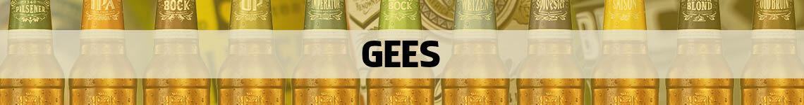 bier bestellen en bezorgen Gees