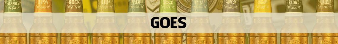 bier bestellen en bezorgen Goes
