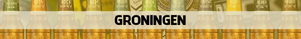 bier bestellen en bezorgen Groningen