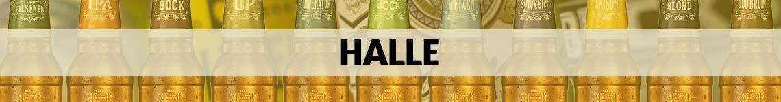 bier bestellen en bezorgen Halle