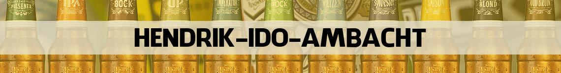bier bestellen en bezorgen Hendrik-Ido-Ambacht