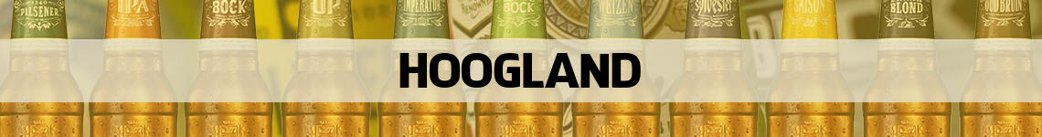 bier bestellen en bezorgen Hoogland