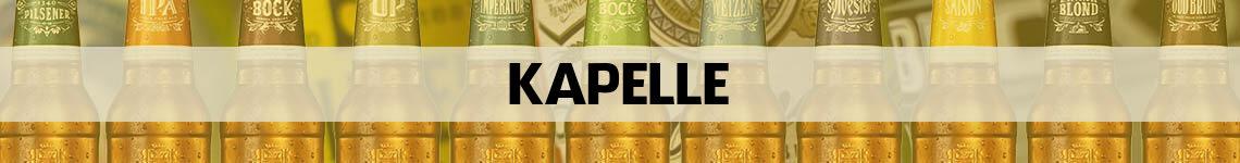 bier bestellen en bezorgen Kapelle