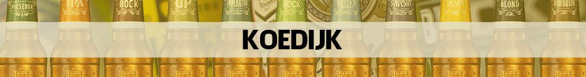 bier bestellen en bezorgen Koedijk
