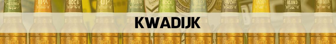 bier bestellen en bezorgen Kwadijk