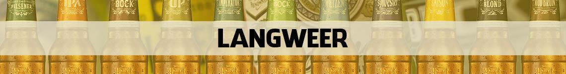 bier bestellen en bezorgen Langweer