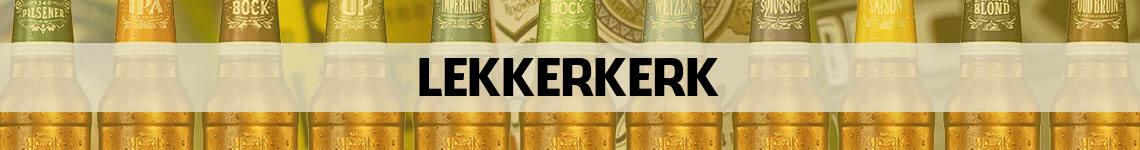 bier bestellen en bezorgen Lekkerkerk