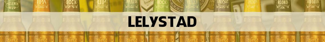 bier bestellen en bezorgen Lelystad