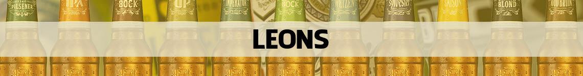 bier bestellen en bezorgen Leons