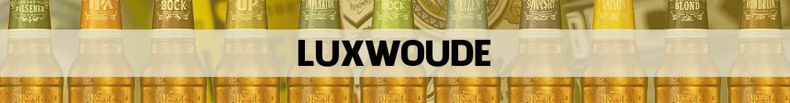 bier bestellen en bezorgen Luxwoude