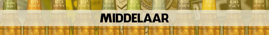 bier bestellen en bezorgen Middelaar