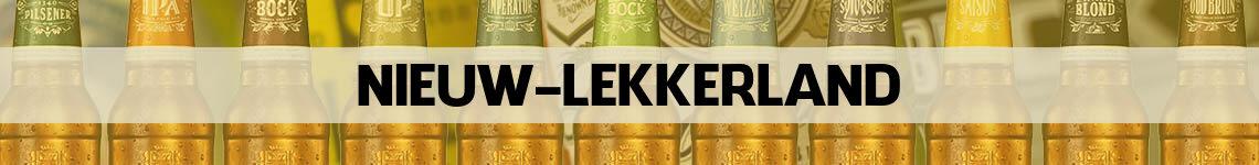 bier bestellen en bezorgen Nieuw-Lekkerland