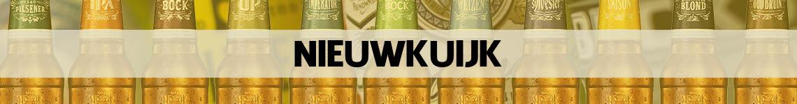 bier bestellen en bezorgen Nieuwkuijk