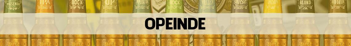 bier bestellen en bezorgen Opeinde