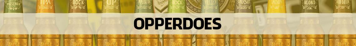 bier bestellen en bezorgen Opperdoes