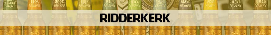 bier bestellen en bezorgen Ridderkerk