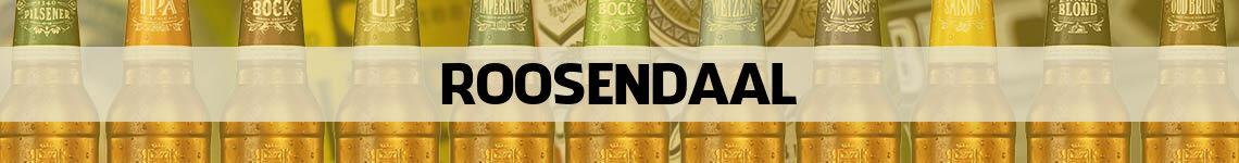 bier bestellen en bezorgen Roosendaal
