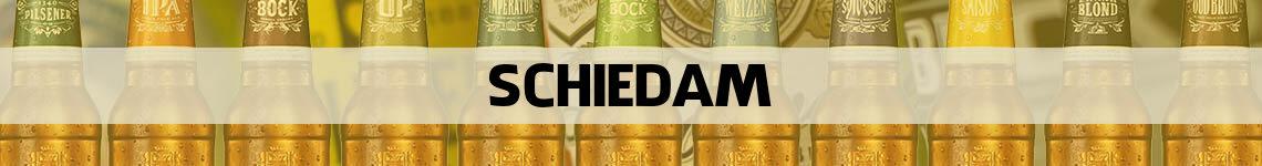 bier bestellen en bezorgen Schiedam