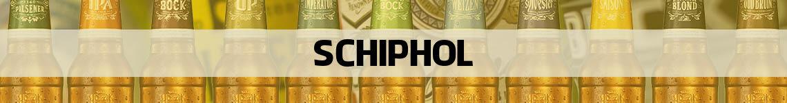 bier bestellen en bezorgen Schiphol