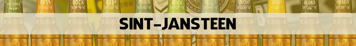bier bestellen en bezorgen Sint Jansteen