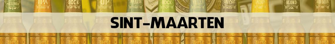 bier bestellen en bezorgen Sint Maarten