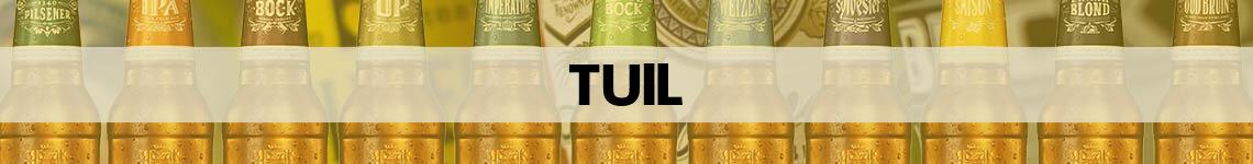 bier bestellen en bezorgen Tuil