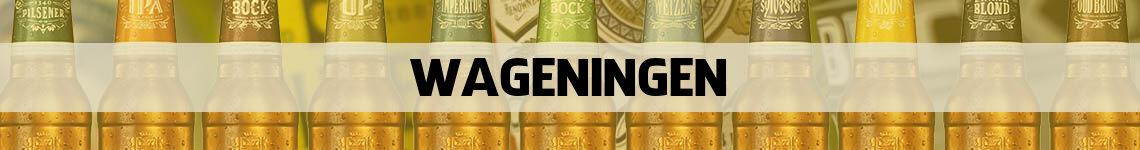 bier bestellen en bezorgen Wageningen