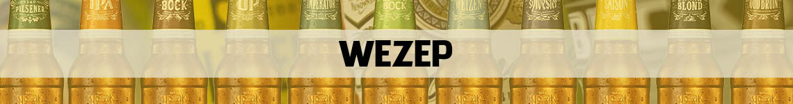 bier bestellen en bezorgen Wezep