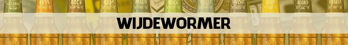bier bestellen en bezorgen Wijdewormer