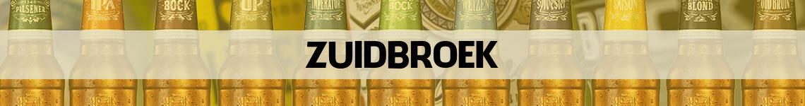 bier bestellen en bezorgen Zuidbroek