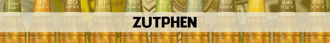 bier bestellen en bezorgen Zutphen